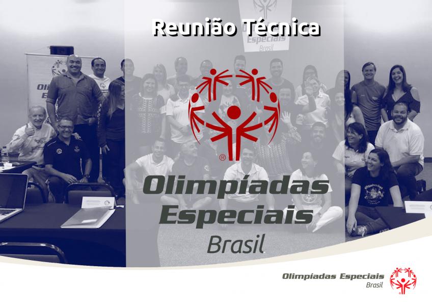 Reunião Técnica – Olimpíadas Especiais Brasil – 2018