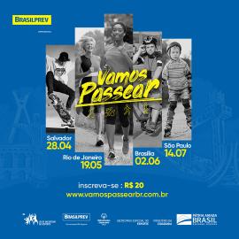"""Com quatro etapas em 2019, """"Vamos Passear"""" começa dia 28 em Salvador (BA)"""