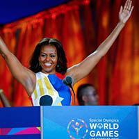 Michelle Obama – Embaixadora da Special Olympics